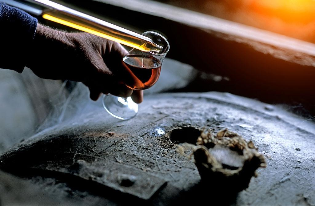 comment est distillé le cognac ( distillation)